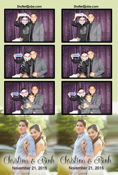 Binh and Christina's Wedding 11/21/15