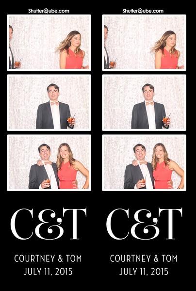 Courtney & Tom's Wedding